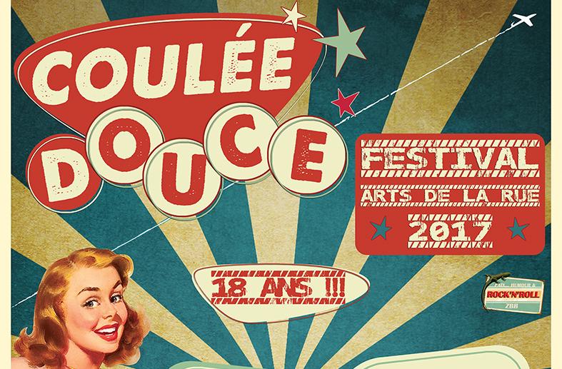 Coulée Douce : festival arts de rue 2017