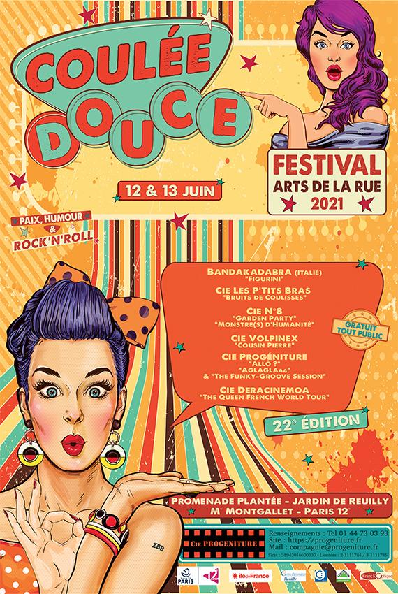 Festival Coulée Douce - Arts de la Rue - Cie Progéniture